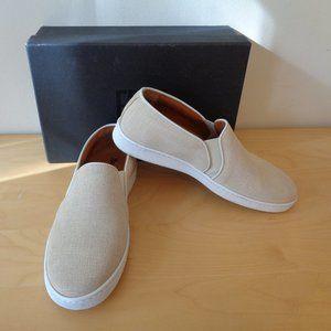 Frye Alexis Slip On Sneakers Beige Size 8.5 NEW